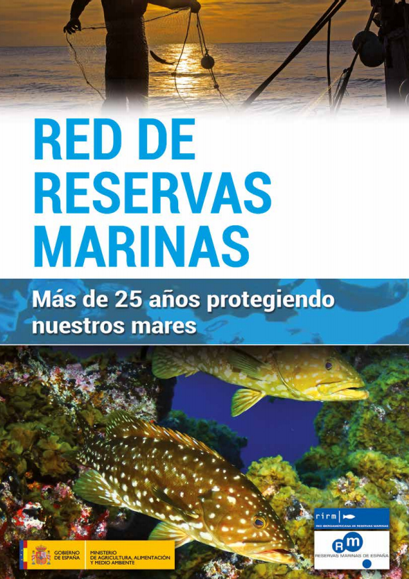 portada revista red reservas marinas